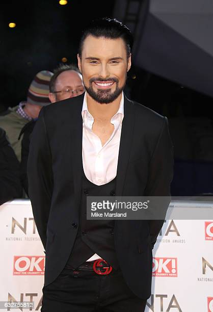 Rylan Clark attends the National Television Awards at The O2 Arena on January 25 2017 in London England