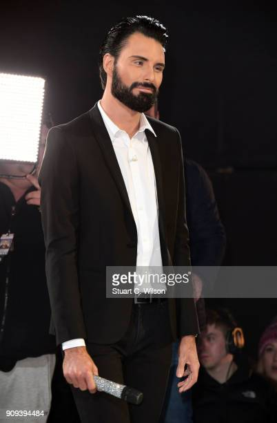 Rylan Clark cohosts the Celebrity Big Brother live eviction at Elstree Studios on January 23 2018 in Borehamwood England