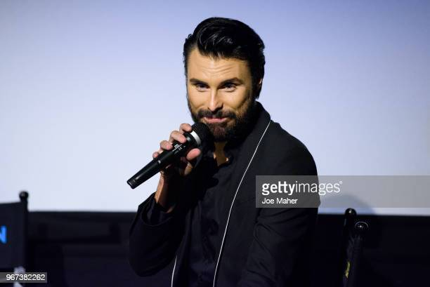 Rylan Clark Hosts a QA session at the DVD launch of 'Steps Party On The Dancefloor' at the Everyman Cinema on June 4 2018 in London England