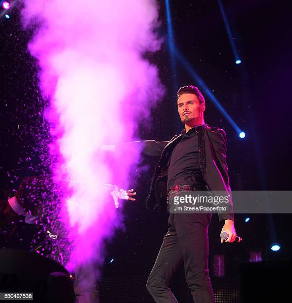 Rylan Clark performing on stage during the X Factor Tour at Wembley Arena in London on the 22nd February 2013