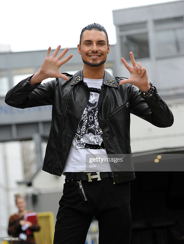 Rylan Clark pictured at the ITV studios on November 26, 2012 in London, England.