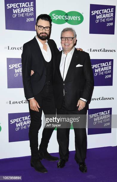 Rylan ClarkNeal and Eamonn Holmes attend the Specsavers 'Spectacle Wearer Of The Year' at 8 Northumberland Avenue on October 24 2018 in London United...