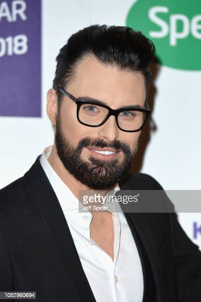 Rylan ClarkNeal attends the Specsavers 'Spectacle Wearer Of The Year' at 8 Northumberland Avenue on October 24 2018 in London United Kingdom