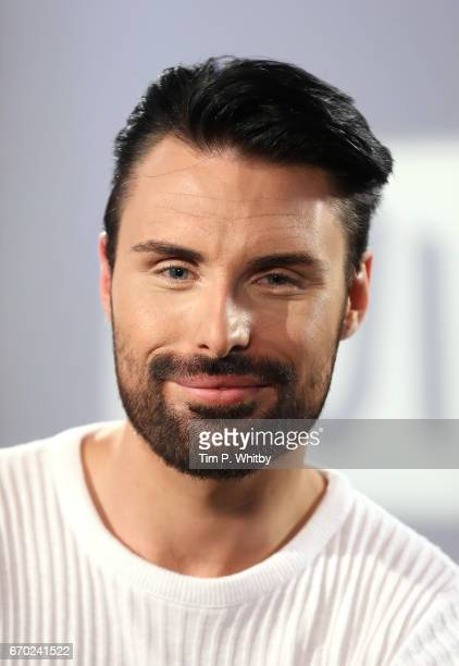 Rylan ClarkNeal in discussion about his new ITV gameshow 'Babushka' at the Build LDN event on April 19 2017 in London United Kingdom