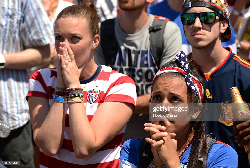 usa soccer fans : News Photo