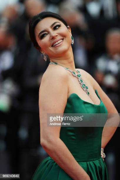 Rym Eltaief attends the screening of 'Burning' during the 71st annual Cannes Film Festival at Palais des Festivals on May 16 2018 in Cannes France