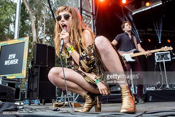 Ryn Weaver performs at Outside Lands Music Arts Festival at Golden Gate Park on August 9 2015 in San Francisco California