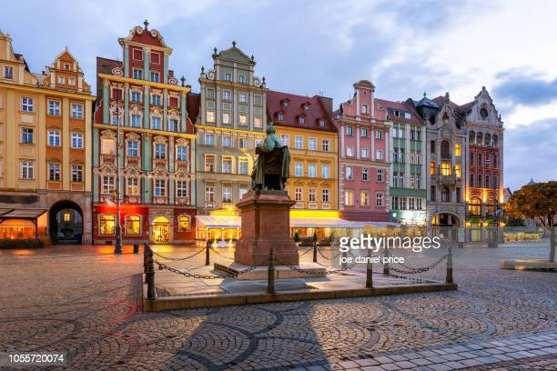 rynek we wroclawiu, wroclaw, poland - krakow stock pictures, royalty-free photos & images