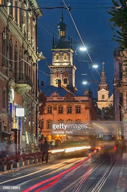 Rynok Square, Lviv, Ukraine