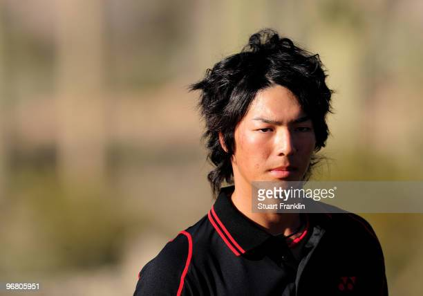 Ryo Ishikawa of Japan during round one of the Accenture Match Play Championship at the Ritz-Carlton Golf Club on February 17, 2010 in Marana, Arizona.