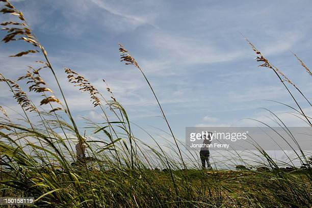 Ryo Ishikawa of Japan hits off the fourth tee during Round Three of the 94th PGA Championship at the Ocean Course on August 11, 2012 in Kiawah...