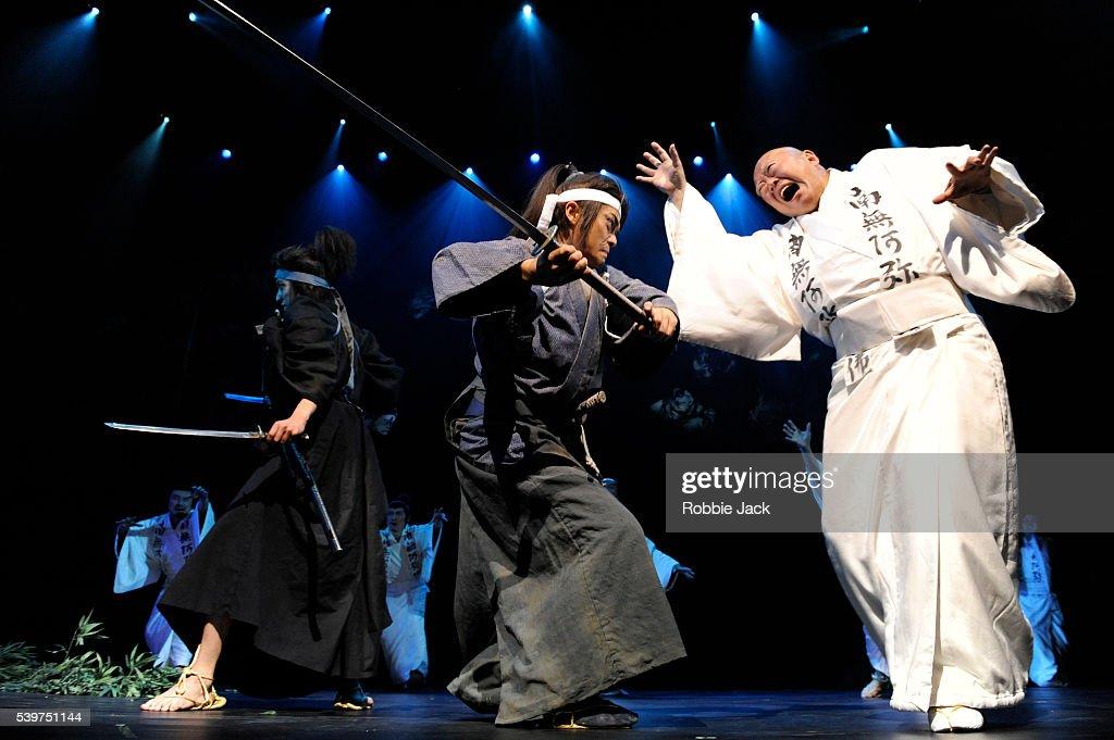 "UK- ""Musashi"" performance in London. : News Photo"