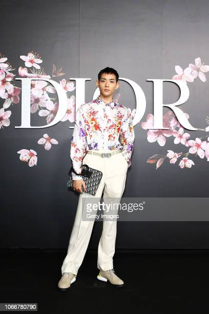 Ryo Ryusei attends the photocall at the Dior Pre Fall 2019 Men's Collection on November 30, 2018 in Tokyo, Japan.