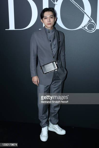 Ryo Yoshizawa attends the Dior Homme Menswear Fall/Winter 2020-2021 show as part of Paris Fashion Week on January 17, 2020 in Paris, France.