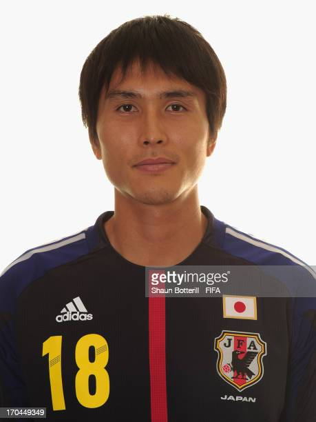 Ryoichi Maeda of Japan poses for a portrait at the Kubistchek Plaza Hotel on June 13 2013 in Brasilia Brazil
