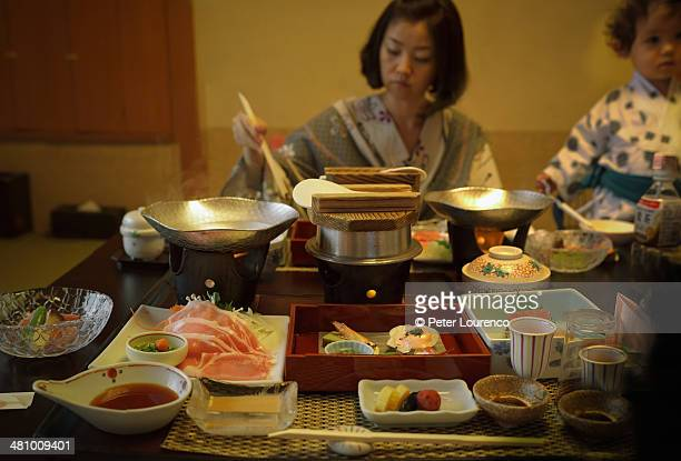 ryoken dinner - peter lourenco photos et images de collection