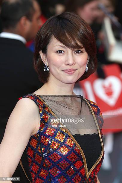 Ryoko Yonekura attends the European Premiere of 'Captain America Civil War' at Vue Westfield on April 26 2016 in London England