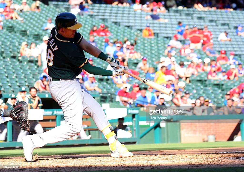 Oakland Athletics v Texas Rangers : News Photo