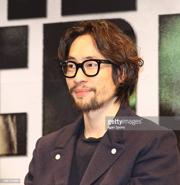 Ryoo SeungBum attends the 'The Berlin File' Press Conference at Apgujeong CGV on January 7 2013 in Seoul South Korea