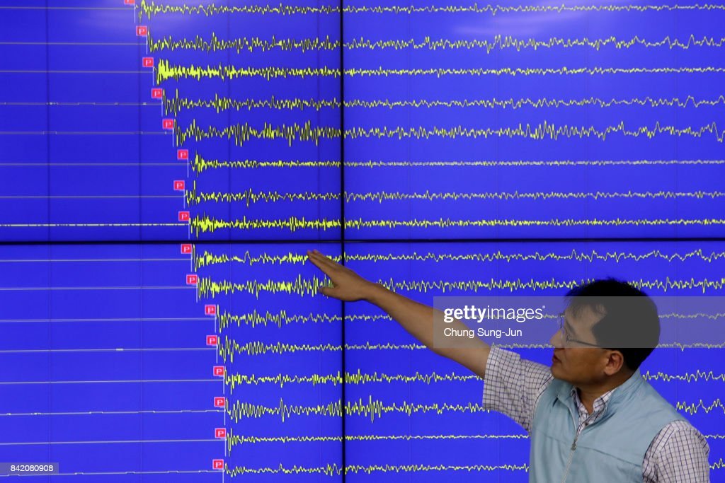 South Korea Reacts To North's Latest Nuclear Test : News Photo