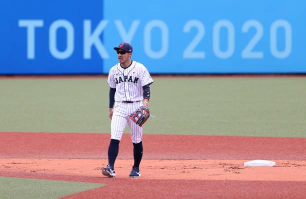 JPN: Baseball - Olympics: Day 5