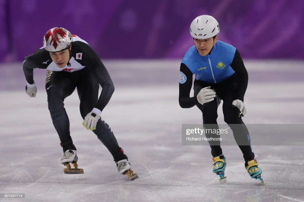 Short Track Speed Skating - Winter Olympics Day 11