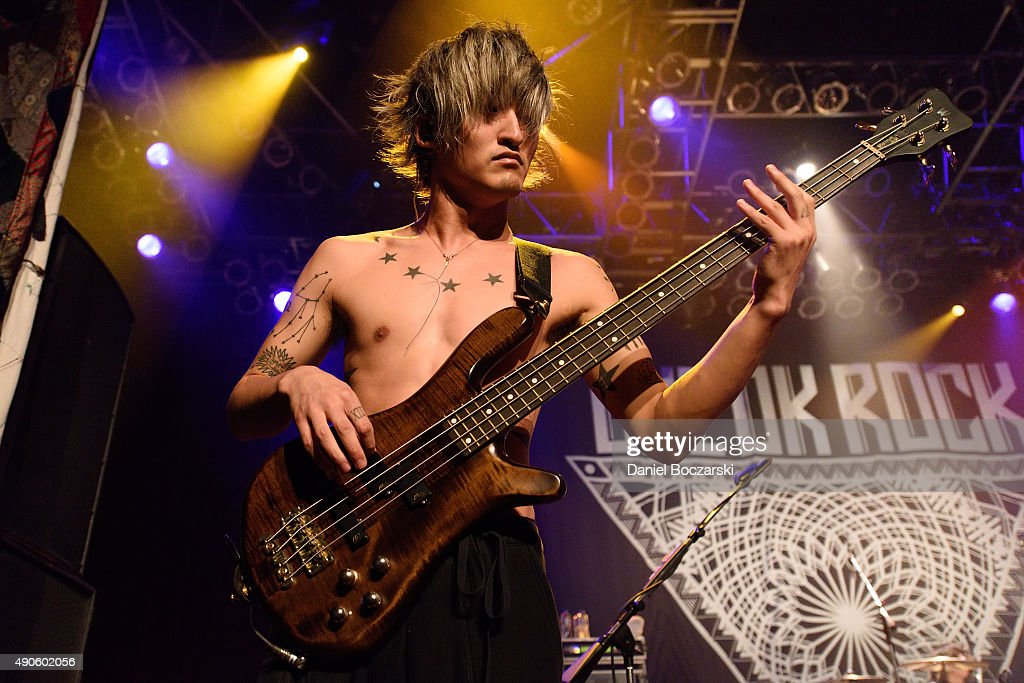 Ryota Kohama of One Ok Rock performs at House Of Blues Chicago on September 29, 2015 in Chicago, Illinois.
