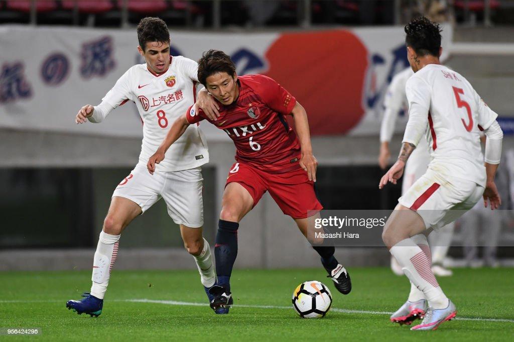 Kashima Antlers v Shanghai SIPG - AFC Champions League Round of 16 1st Leg : News Photo