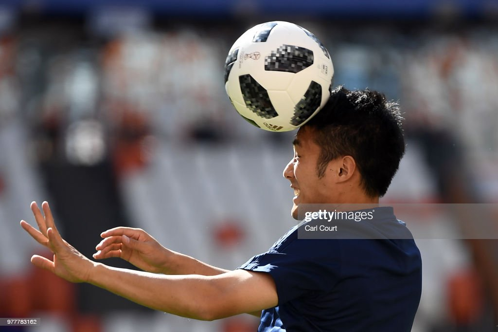 Japan Press Conference And Training Session : ニュース写真