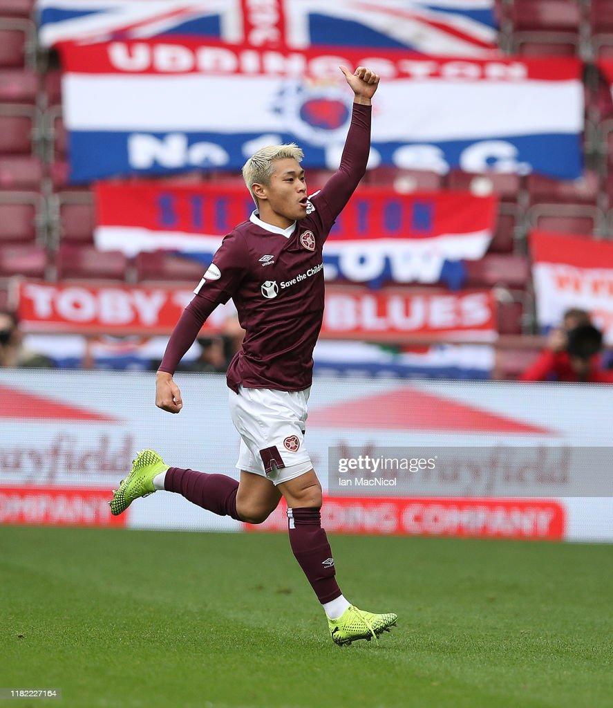 Hearts v Rangers - Ladbrokes Scottish Premiership : ニュース写真