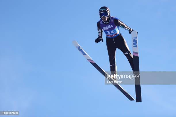 Ryoyu Kobayashi of Japan competes in the FIS Nordic World Cup Four Hills Tournament on December 31 2017 in GarmischPartenkirchen Germany