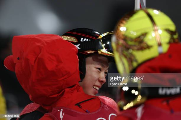 Ryoyu Kobayashi of Japan looks on during the Ski Jumping Men's Normal Hill Individual Final on day one of the PyeongChang 2018 Winter Olympic Games...