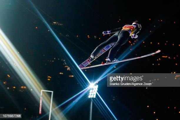 Ryoyu Kobayashi takes 1st place during the FIS Nordic World Cup Four Hills Tournament on December 30 2018 in Oberstdorf Germany
