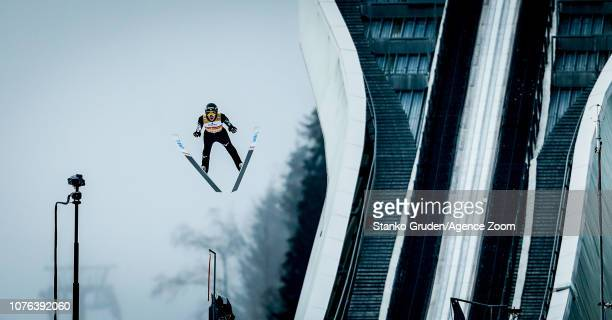 Ryoyu Kobayashi takes 1st place during the FIS Nordic World Cup Four Hills Tournament on January 1 2019 in GarmischPartenkirchen Germany