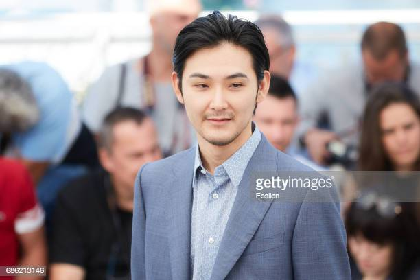 Ryuhei Matsuda attends the 'Before We Vanish ' photocall during the 70th annual Cannes Film Festival at Palais des Festivals on May 21 2017 in Cannes...