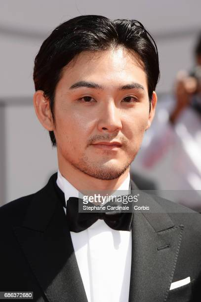 Ryuhei Matsuda attends the 'Before We Vanish s' premiere during the 70th annual Cannes Film Festival at Palais des Festivals on May 21 2017 in Cannes...