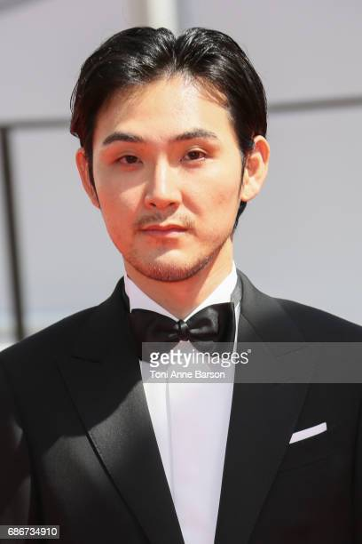 Ryuhei Matsuda attends the 'Before We Vanish ' screening during the 70th annual Cannes Film Festival at on May 21 2017 in Cannes France