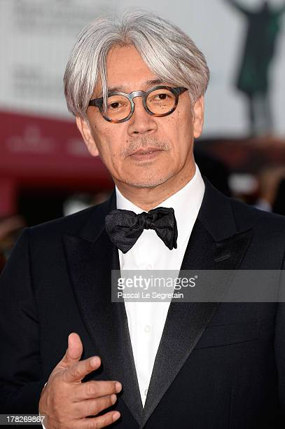 Ryuichi Sakamoto attends the Opening Ceremony And 'Gravity' Premiere during the 70th Venice International Film Festival at the Palazzo del Cinema on...