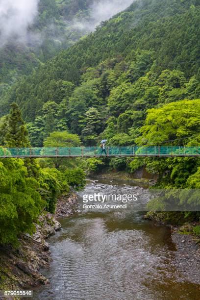 Ryujin Onsen hot spring village in Japan