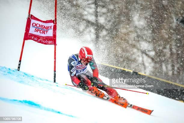 Ryunosuke Ohkoshi of Japan during the Audi FIS Alpine Ski World Cup Men's Giant Slalom on December 8, 2018 in Val d'Isère France.