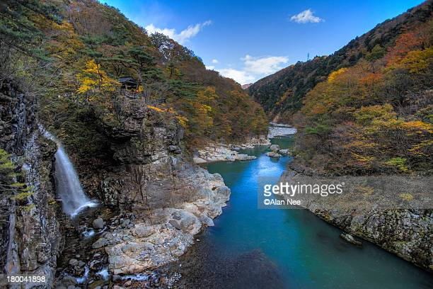 ryuokyo - nikko city stock pictures, royalty-free photos & images