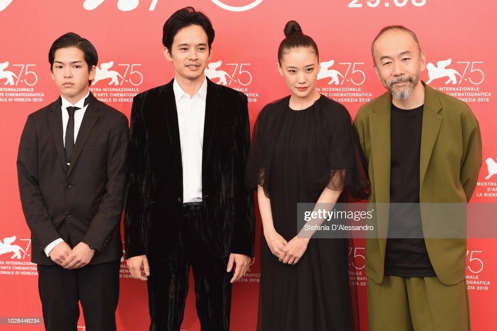 """ITA: """"Killing (Zan)"""" Photocall - 75th Venice Film Festival"""