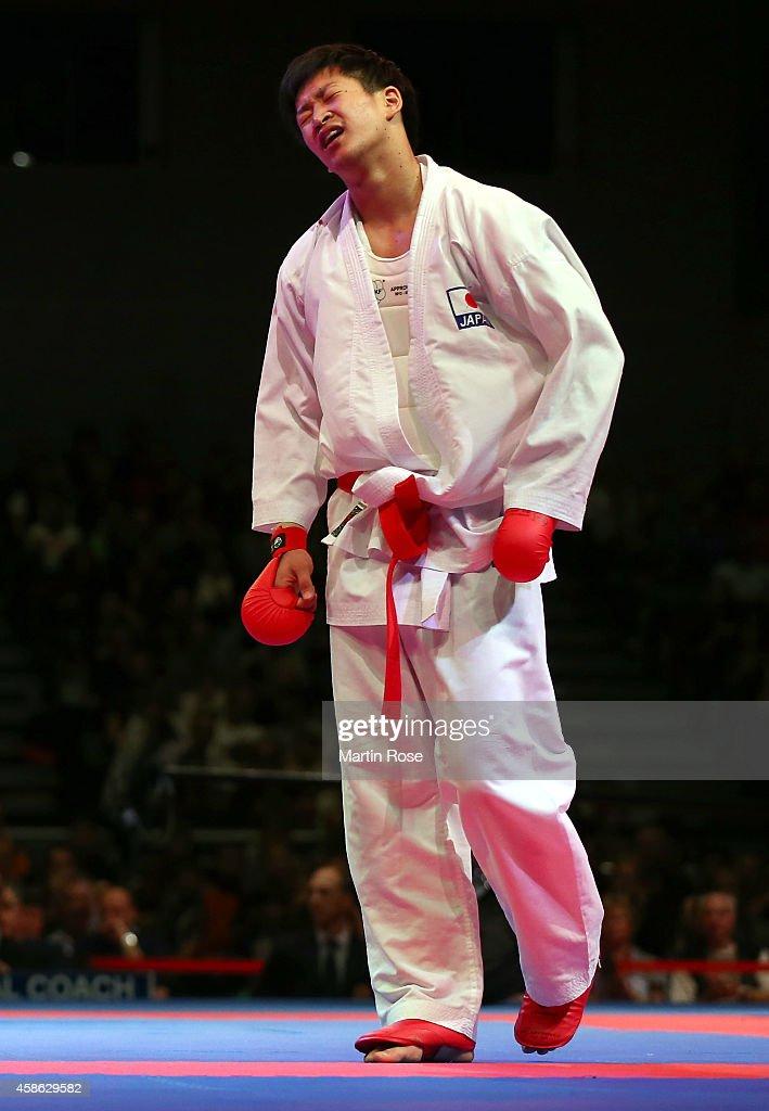 22nd Karate World Championships Bremen 2014 - Day 4