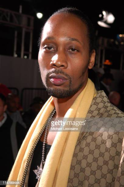 Rza during 2006 VH1 Hip Hop Honors Red Carpet at Hammerstein Ballroom in New York City New York United States