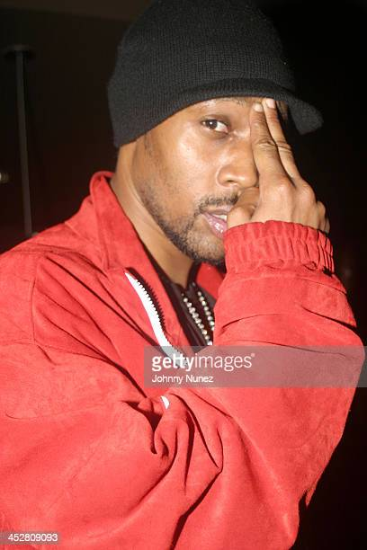 Rza during Rza and Trace Magazine Host Kill Bill Vol 2 Private Screening at Tribeca Screening Room in New York City New York United States