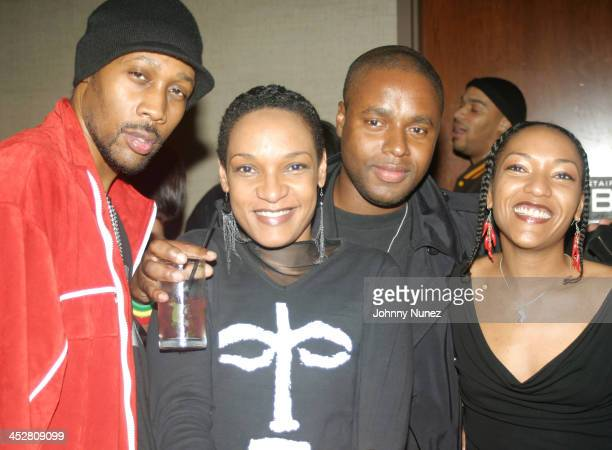 Rza Les Nubians and Claude Grunitzky of Trace Magazine