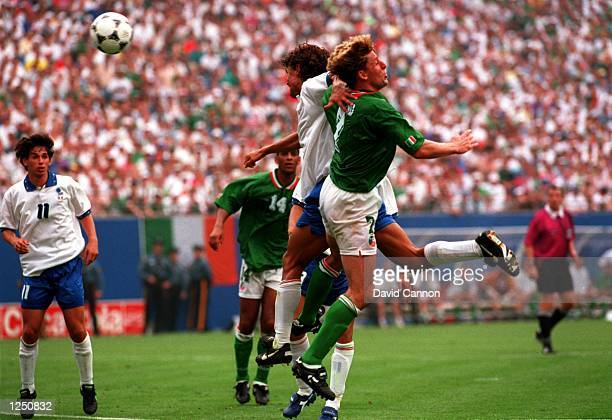 S 1-0 VICTORY OVER ITALY IN THE 1994 WORLD CUP GAME AT THE MEADOWLANDS+ GIANTS STADIUM IN EAST RUTHERFORD, NEW JERSEY. Mandatory Credit: David...