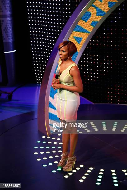 BET's 106 Park Host Miss Mykie films at BET Studios on May 1 2013 in New York City