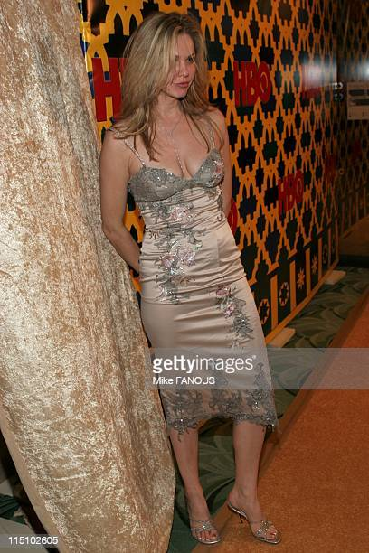 HBO's 2005 Golden Globes after party in Beverly Hills United States on January 16 2005 Andrea Roth at Griff's
