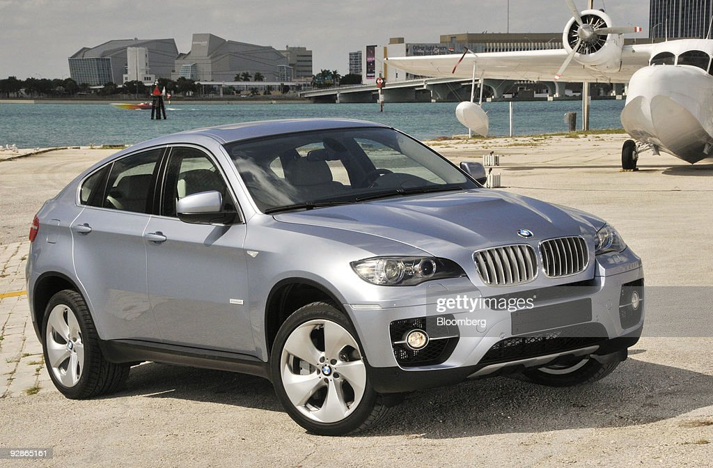 BMW X6 Hybrid Global Launch Pictures   Getty Images